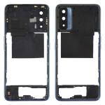 Middle Frame Bezel Plate for OPPO Realme V15 (Blue)