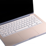 JRC 2 In 1 Full Support Sticker + Touchpad Film Computer Full Wrist Support Sticker Set For MacBook Pro 16 inch A2141 (with Touch Bar)(Champagne Gold)