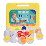 English Letters Matching Eggs Toys Color Shape Identification Simulation Egg Gift Box