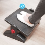 Two Levels of Height Adjustable Ergonomic Office Footstool Footrest For Pregnant Women