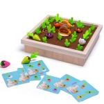 Wood Pulling Radish Memory Chess Toys Children Intelligence Education Games
