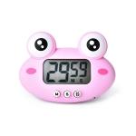 2 PCS Kitchen Baking Cartoon Animal Electronic Timer Alarm Clock Student Learning Timer(Pink Frog)