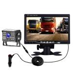 Big Truck 7 Inch Display Night Vision Camera Reversing Monitoring System Car HD Inverted Video, Resolution: 1024 x 600