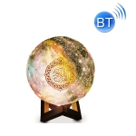JM-N-0039 Moon Decoration Light Wireless Bluetooth Remote Control Night Light, Light color: Painting