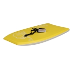 [US Warehouse] 37 inch Outdoor Water Sports Surfboard with Traction Belt (Yellow)