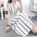 Fashion Printed Slim Slimming Dress (Color:2 Size:XL)