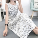 Fashion Printed Slim Slimming Dress (Color:5 Size:M)