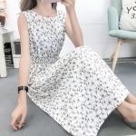 Fashion Printed Slim Slimming Dress (Color:5 Size:M)