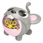 YDJ-V10 Automatic Cute Bubble Machine (With Battery) (Grey)