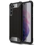 For Samsung Galaxy S21 FE Magic Armor TPU + PC Combination Case(Black)