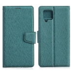 For Samsung Galaxy A42 5G Silk Texture Horizontal Flip Leather Case with Holder & Card Slots & Wallet & Photo Frame(Green)