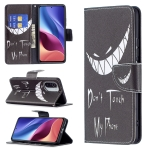For Xiaomi Mi 11i / Poco F3 / Redmi K40 Colored Drawing Pattern Horizontal Flip Leather Case with Holder & Card Slots & Wallet(Smirk)