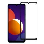 For Samsung Galaxy M12 Full Glue Full Screen Tempered Glass Film