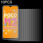 For Xiaomi Poco M2 Reloaded 10 PCS 0.26mm 9H 2.5D Tempered Glass Film