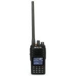 RETEVIS RT52 136-174MHz+400-470MHz 4000CHS Digital Dual Band Two Way Radio Handheld Walkie Talkie with GPS Function(Black)