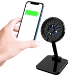 FF911 Foldable MagSafe Wireless Charger Fan Cooling Bracket for iPhone 12 Series(Black)