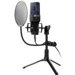 Yanmai X1 4 in 1 Foldable Lifting Professional Desktop Live Broadcast Cardioid Pointing Condenser Recording Microphone Set with Blowout Net & Shockproof Mount & 1.8m USB-C / Type-C Cable
