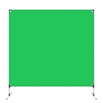 PULUZ 2 x 2m Photo Studio Background Green Backdrops Cutout Picture Backdrop Bracket Stand (Green)