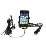 2100MHz Car 3G Mobile Phone Signal Amplifier with Phone Holder