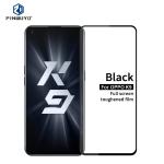 For OPPO K9 PINWUYO 9H 2.5D Full Screen Tempered Glass Film(Black)