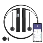 Cordless And Corded Dual-Use USB Charging Children Steel Wire Skipping Rope Smart APP Bluetooth Connection Fitness Counting Skipping Rope, Rope Length: 3m