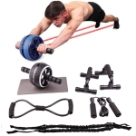 7 In 1 Pull Rope Set Home Fitness Equipment(White )