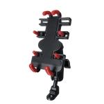Motorcycle Metal Navigation Mobile Phone Bracket,Style: Rearview Mirror Installation (Hand Twist)