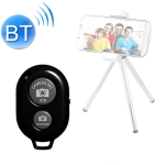 4 PCS Wireless Bluetooth Remote Control Selfie Selfie Stick Live Broadcast Video Controller(Black)