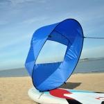 42 Inch Kayak Sail Downwind SUP Paddle Board Sail(Blue )