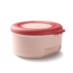 2 PCS Four-Piece Home Seasoning Box Kitchen Flavor Set Storage Box With Cover(Pink)