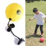 Children Training Football with Non-detachable Rope (No. 2 Yellow)