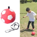 Children Training Football with Detachable Rope (No. 2 Red)