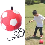 Children Training Football with Detachable Rope (No. 3 Red White)