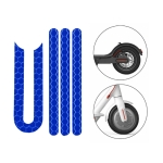 5 PCS Scooter Stickers Reflective Cursor Scooter Mudguard Reflective Sticker For Xiaomi Mijia M365 / M365 Pro (Blue)