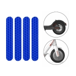 5 PCS Scooter Stickers Reflective Cursor Scooter Mudguard Reflective Sticker For Ninebot Max G30 (Blue)