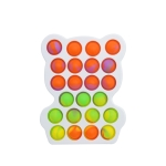 3 PCS Colorful Children Fingers Press The Bubble Toy Tabletop Game Board, Style: Bear