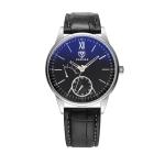 YAZOLE Men Business Quartz Watch(314 Black Tray Black Belt)