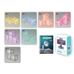 Magnetic Building Blocks Cube Cube Assembling Toys For Children, Colour: Hardcover