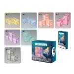 Magnetic Building Blocks Cube Cube Assembling Toys For Children, Colour: Card