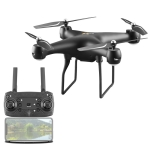 YLR/C S32T 25 Minute Long Battery Life High-Definition Aerial Photography Drone Gesture Remote Control Quadcopter, Colour: Standard (Black)
