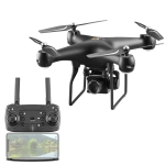 YLR/C S32T 25 Minute Long Battery Life High-Definition Aerial Photography Drone Gesture Remote Control Quadcopter, Colour: 2 Million Pixels (Black)