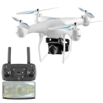 YLR/C S32T 25 Minute Long Battery Life High-Definition Aerial Photography Drone Gesture Remote Control Quadcopter, Colour: 500 Million Pixels (White)