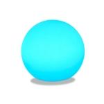 3W Alexa Voice Control Smart Light WIFI Mobile Phone APP Atmosphere Night Light, Specification: 15cm (Round Ball)