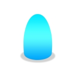 3W Alexa Voice Control Smart Light WIFI Mobile Phone APP Atmosphere Night Light, Specification: 10x15cm (Egg Light)