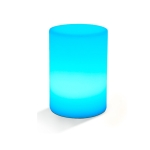 3W Alexa Voice Control Smart Light WIFI Mobile Phone APP Atmosphere Night Light, Specification: 10x15cm (Cylindrical Light)