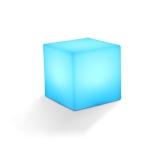 3W Alexa Voice Control Smart Light WIFI Mobile Phone APP Atmosphere Night Light, Specification: 10x10cm (Cube)