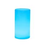 3W Alexa Voice Control Smart Light WIFI Mobile Phone APP Atmosphere Night Light, Specification: 10x20cm (Cylindrical Light)
