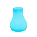3W Alexa Voice Control Smart Light WIFI Mobile Phone APP Atmosphere Night Light, Specification: 10x15cm (Striped Vase Light)