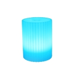 3W Alexa Voice Control Smart Light WIFI Mobile Phone APP Atmosphere Night Light, Specification: 10x15cm (Cylindrical Vase Light)