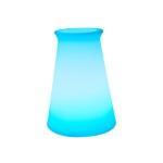 3W Alexa Voice Control Smart Light WIFI Mobile Phone APP Atmosphere Night Light, Specification: 10x15cm (Conical Vase Light)